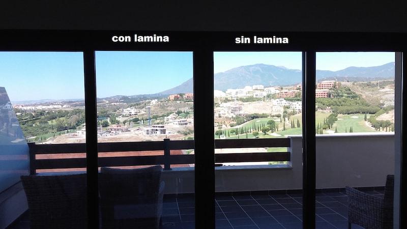 Glass Dynamics Laminas Solares con lamina sin lamina