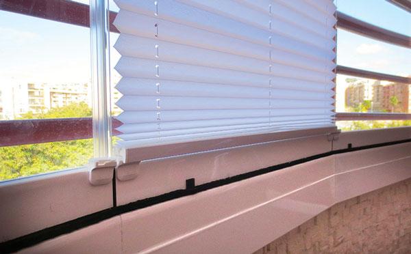 Glass Dynamics Cortina cristal productos complementarios cortina plisada cogida hoja