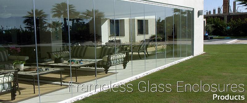 Glass Dynamics Frameless glass enclosure